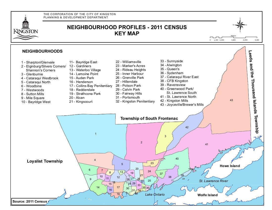 Map Of Kingston Neighborhoods